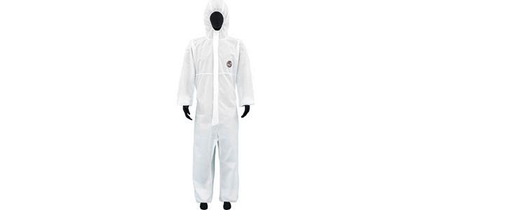 シロアリ駆除の防護服