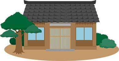 シロアリ被害のある木造住宅